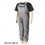 Nohavice na traky detské šedé