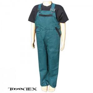 Nohavice na traky detské zelené